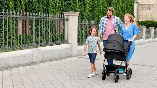 KinderKraft kombinirani otroški voziček 3v1 Moov