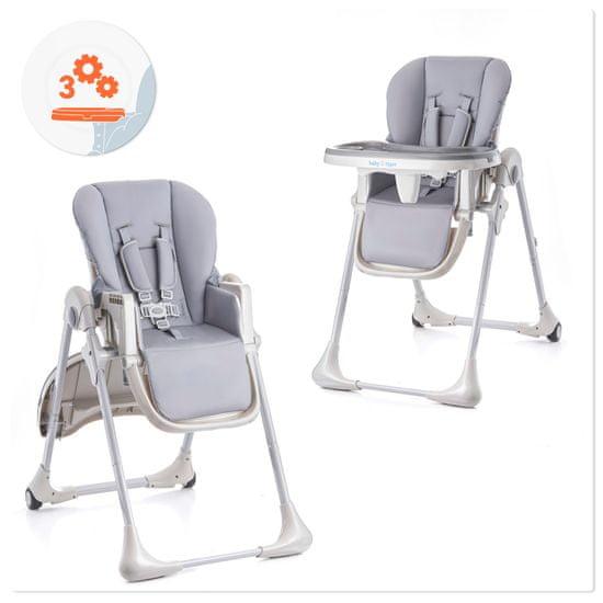 BABY TIGER krzesełko do karmienia feeding high chair KIKI