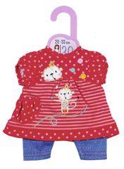 Zapf Creation Dolly Moda Šatičky a kalhoty, 30 cm