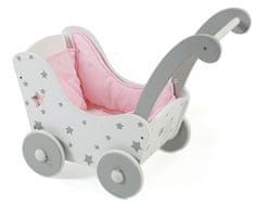 Bayer Chic leseni otroški voziček, srebrni