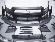 Přední nárazník MP Concepts GT500 2020 pro Mustang 2015-2017