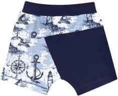 Nini fantovske kratke hlače iz organskega bombaža, 62, modre