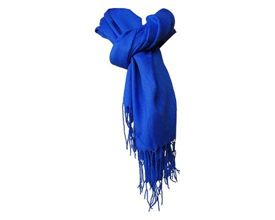 ORSI Dámská šála pašmína 68x180 modrá