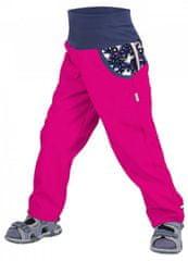 Unuo lány softshell nadrág bélés nélkül, Egyszarvú, 98/104, rózsaszín