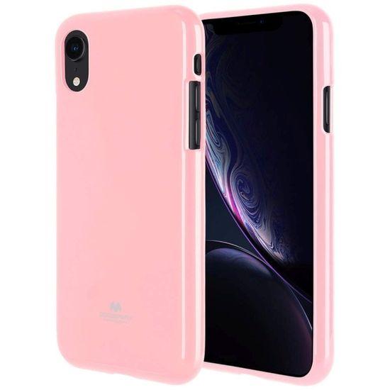 Mercury Jelly silikónový kryt na Huawei Y7 Prime 2018 / Y7 2018, ružový