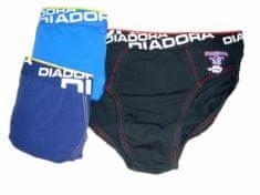 Diadora 112 chlapecké slipy Barva: modrá tmavá, Velikost oblečení: 7-122