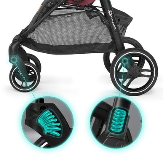 KinderKraft puschair Grande LX voziček