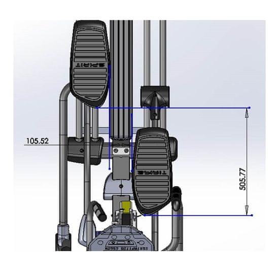 Master eliptical EC100 Ergometer