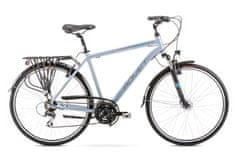 Romet Wagant 3 (2020) treking kolo, M, srebrno-modro - Odprta embalaža