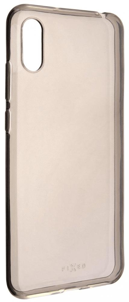 FIXED TPU gelové pouzdro Slim pro Huawei Y6 (2019), 0,6 mm, kouřové FIXTCSM-395