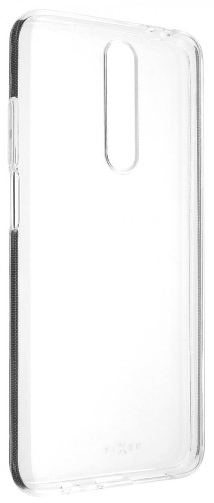 Fixed TPU gelové pouzdro pro Xiaomi Poco X2 FIXTCC-519, čiré