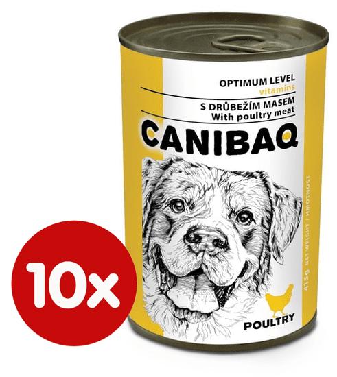 Dibaq hrana za pse CANIBAQ Classic perad, 10x415 g