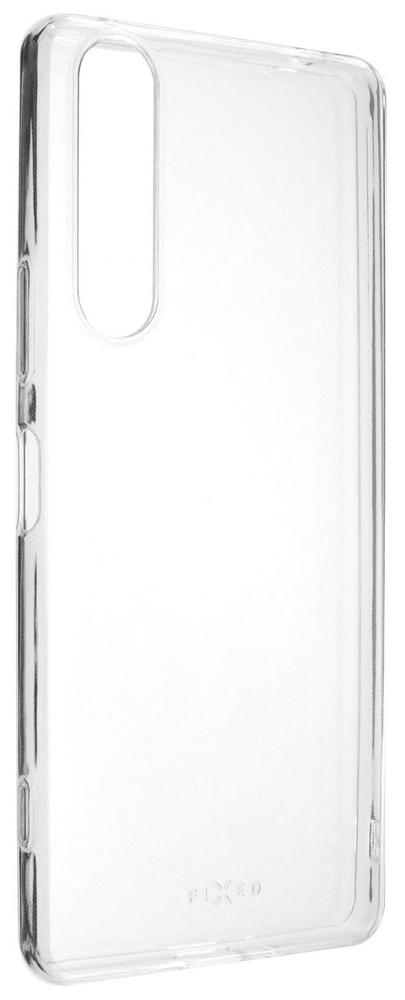 FIXED TPU gelové pouzdro pro Sony Xperia 1 II FIXTCC-525, čiré