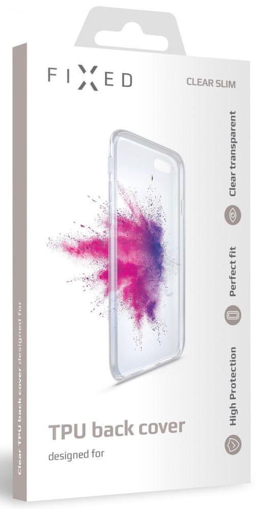 FIXED TPU gelové pouzdro pro Sony Xperia 10 II FIXTCC-526, čiré
