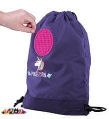 Pixie Crew vrećasti ruksak Jednorog