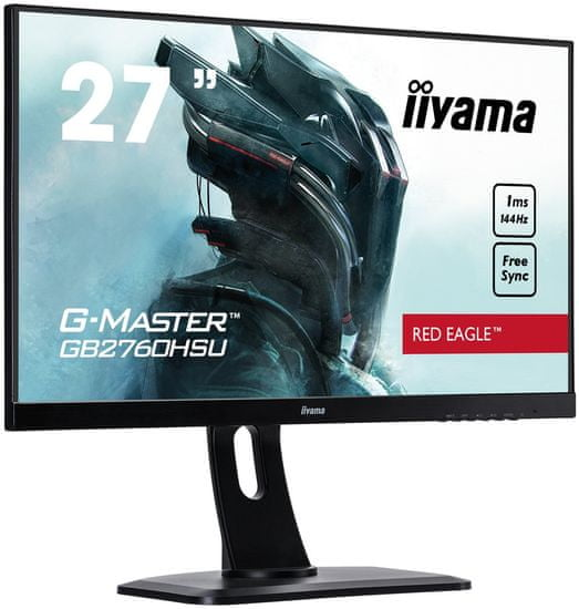 iiyama LED monitor GB2760HSU-B1, 68,5 cm