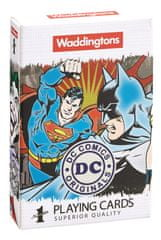 Winning Moves Waddingtons Hracie karty: DC Superheroes Retro