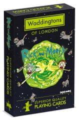 Winning Moves Waddingtons Hracie karty: Rick and Morty