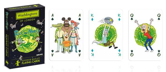 Winning Moves Waddingtons igralne karte: Rick and Morty