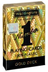 Winning Moves Waddingtons Hracie karty: Nie. 1 Gold