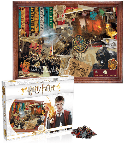 Winning Moves Puzzle Harry Potter: Bradavice 1000 dílků
