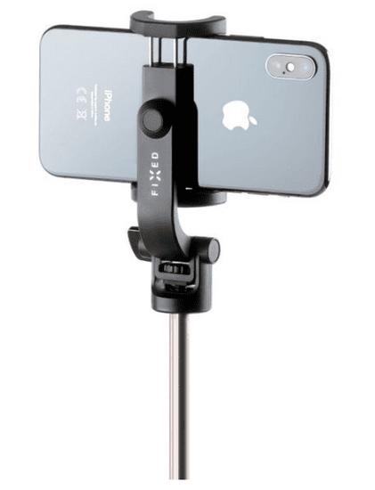 FIXED Selfie stick s tripodem Snap Lite a bezdrátovou spouští, černý FIXSS-SNL-BK