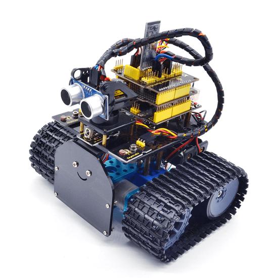 Keyestudio Arduino mini robotický tank V2