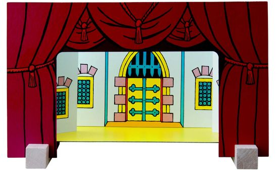 DETOA Magnetické divadlo hrad