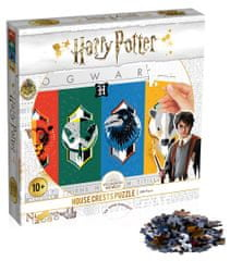 Winning Moves sestavljanka Harry Potter House Crests, 500 delov