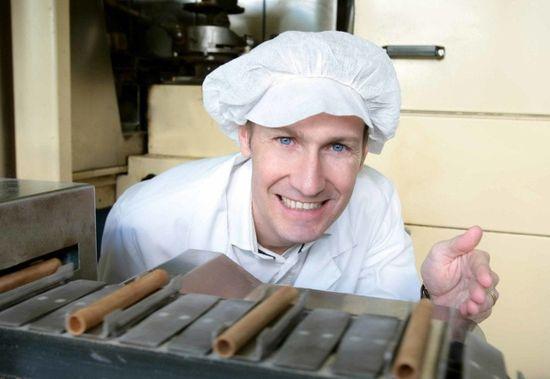 Gottlieber Swiss Line Švýcarské čokoládové trubičky - příchuť chocolait a praliné, 20 ks, 300 g. Switzerland's Finest Since 1928