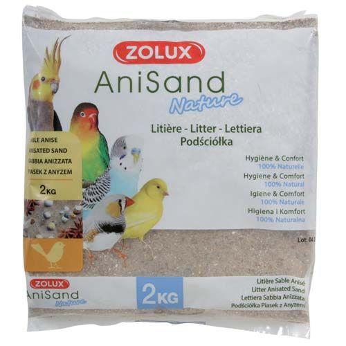 Zolux ANISAND SAND NATURE 2kg madárhomok ánizzsal