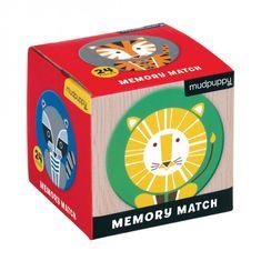 Mudpuppy Pexeso - Zvieratá (24 ks) / Mini Memory Game Geometric Animals (24 pc)