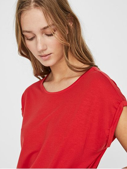 Vero Moda Női póló VMAVA 10187159 Goji Berry