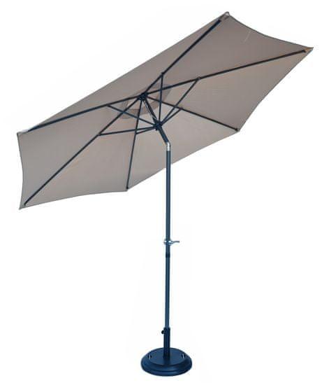 Rojaplast parasol przeciwsłoneczny 300 cm odchylany beżowy