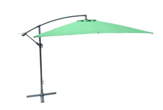Rojaplast senčnik 8080 (270x270cm) neprepustni, zelen