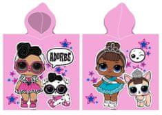 Carbotex ponczo dziecięce L.O.L. Surprise Adored Girls