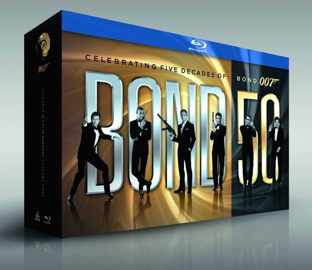 James Bond 50: kolekce 23 Blu-ray