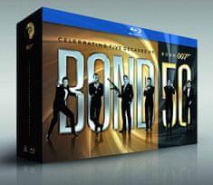 James Bond 50 kolekce - 23 Blu-ray (Edice k 50. výročí)