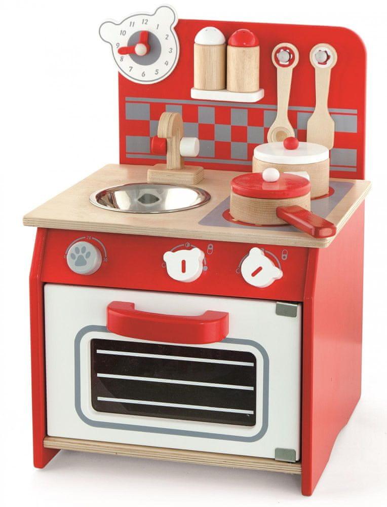 Viga Dřevěná mini kuchyňka