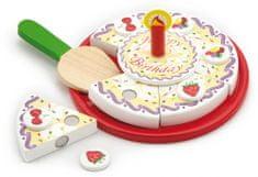 Viga lesena rojstnodnevna torta