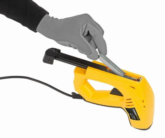 PowerPlus POWX13700 - Elektrická sponkovačka / hřebíkovačka 45W