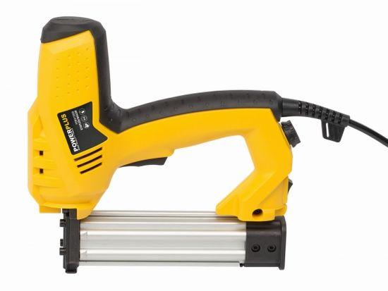 PowerPlus POWX13800 - Elektrická sponkovačka / hřebíkovačka 50W