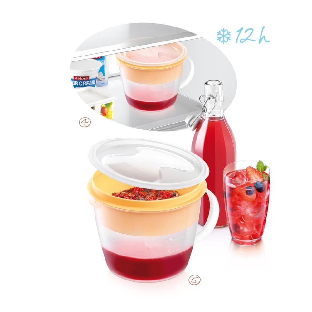 Tescoma Souprava pro přípravu sirupů DELLA CASA 1500 ml
