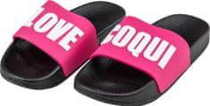 Coqui Lány cipő RUKI 6383 Black/Fuchsia love 6383-512-2205, 31/32, rózsaszín