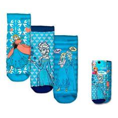 """EUROSWAN Dekliške gleženj nogavice Frozen"""" - 3 kos v paketu - 23–26"""