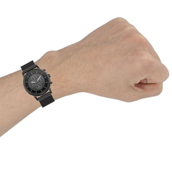 BStrap Huawei Watch GT/GT2 46mm Milanese szíj, Gold