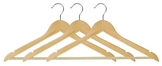 Kesper leseni obešalnik, 3 kosi