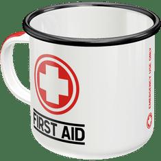 Postershop kovinska skodelica First Aid