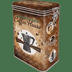 Postershop blaszane pudełko z klipsem - Coffee House