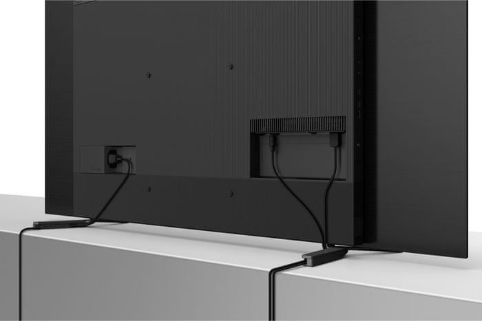 sony 4K TV OLED cable management